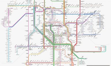 Trans Jakarta Routes and Stops || Trans Jakarta Network Map
